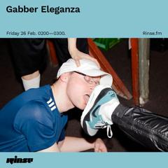 Gabber Eleganza - 26 February 2021