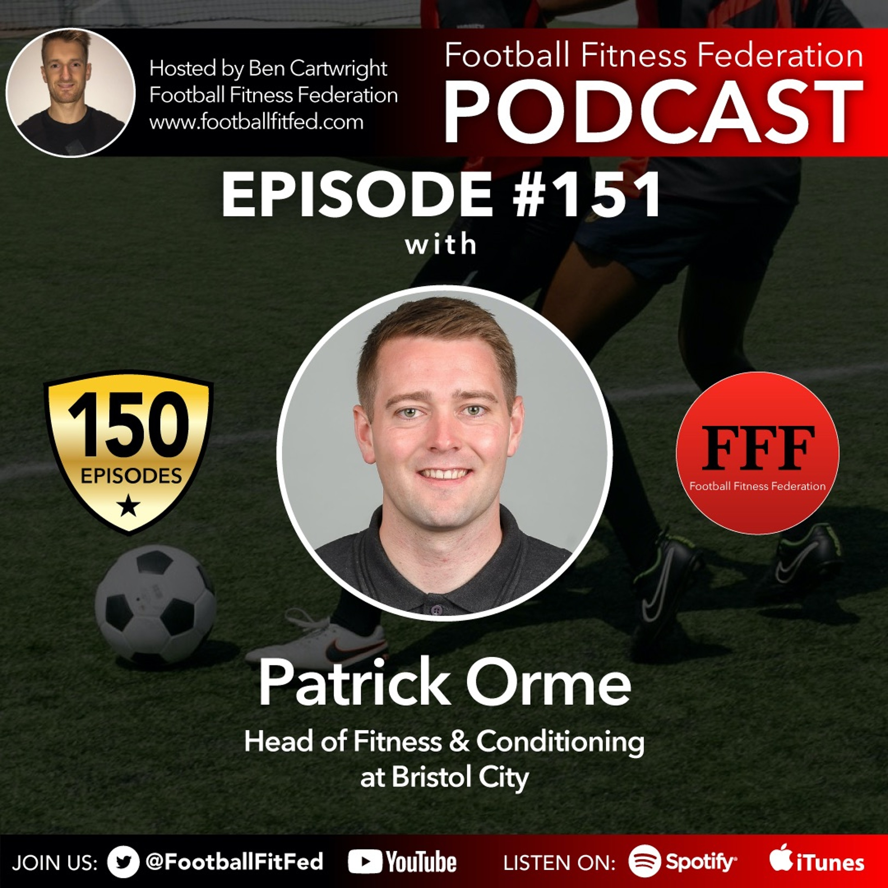 """#151 """"Match Day Responsibilities"""" With Patrick Orme"""