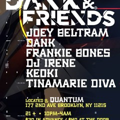 DANK & Tinamarie Diva * Live 7.24.21 Quantum, Brooklyn - NYC