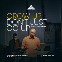 Grow Up, Don't Just Go Up - Pastor Temi Odejide - Sunday 08 August 2021