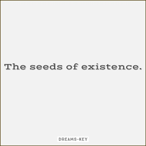 Dreams Key - Seeds Of Existence