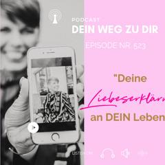"""Podcast Nr. 523: """"Wieviel Spaß und Leichtigkeit erlaubst Du Dir?"""