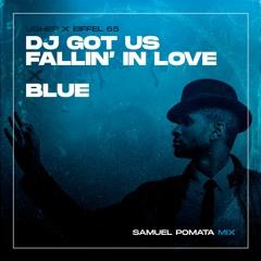 Usher X Eiffel 65 - DJ Got Us Fallin' In Love X Blue (Samuel Pomata Mix)
