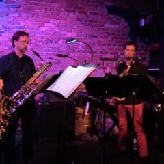 Two Etudes for Saxophone Quartet