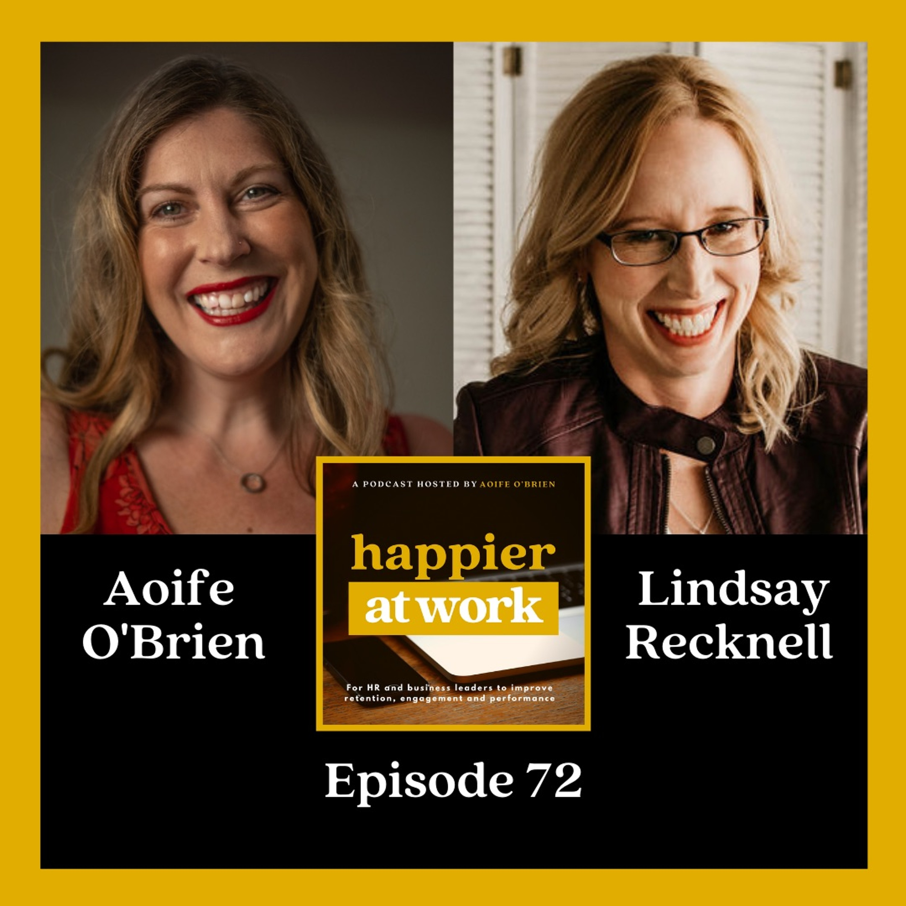 72: Dealing with work burnout with Lindsay Recknell