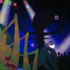 Het brandend verlangen om in het licht van een stroboscoop te staan in een avant-garde discotheek