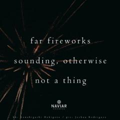 naviarhaiku392: far fireworks
