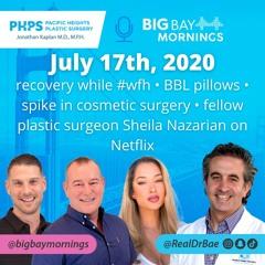 Dr. Kaplan on Big Bay Mornings July 17th, 2020