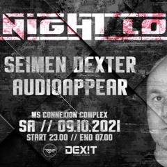 SEIMEN DEXTER @ ALL NIGHT LONG 09.10.21 MSC2 MANNHEIM