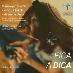 COLUNA FICA A DICA - A morte de um cristão jamais é solitária- 30/04/2021 - Rádio CPT
