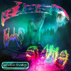 globe baby - Deep Blue Slime