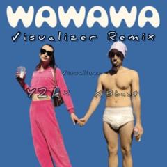 Y2K, bbno$ - Wawawa (Visualizer remix)