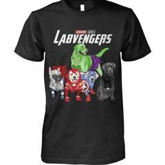 Labvengers Labrador Avengers Marvel shirt