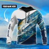 Download Marlin fishing camo personalized custom name 3d hoodie Mp3