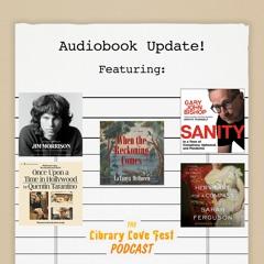 Audiobook Update! (Featuring Andrew Kaberline, Senior Audio Marketing Associate)