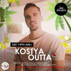 KOSTYA OUTTA - Social Brunch Podcast   Ibiza Global Radio