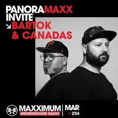 MAXXIMUM UNDERGROUND RADIO - PANORAMAXX - MARS 2021