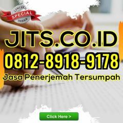 TERPERCAYA! WA 0812 - 8918 - 9178 Jasa Terjemahan Indonesia Di Tasikmalaya