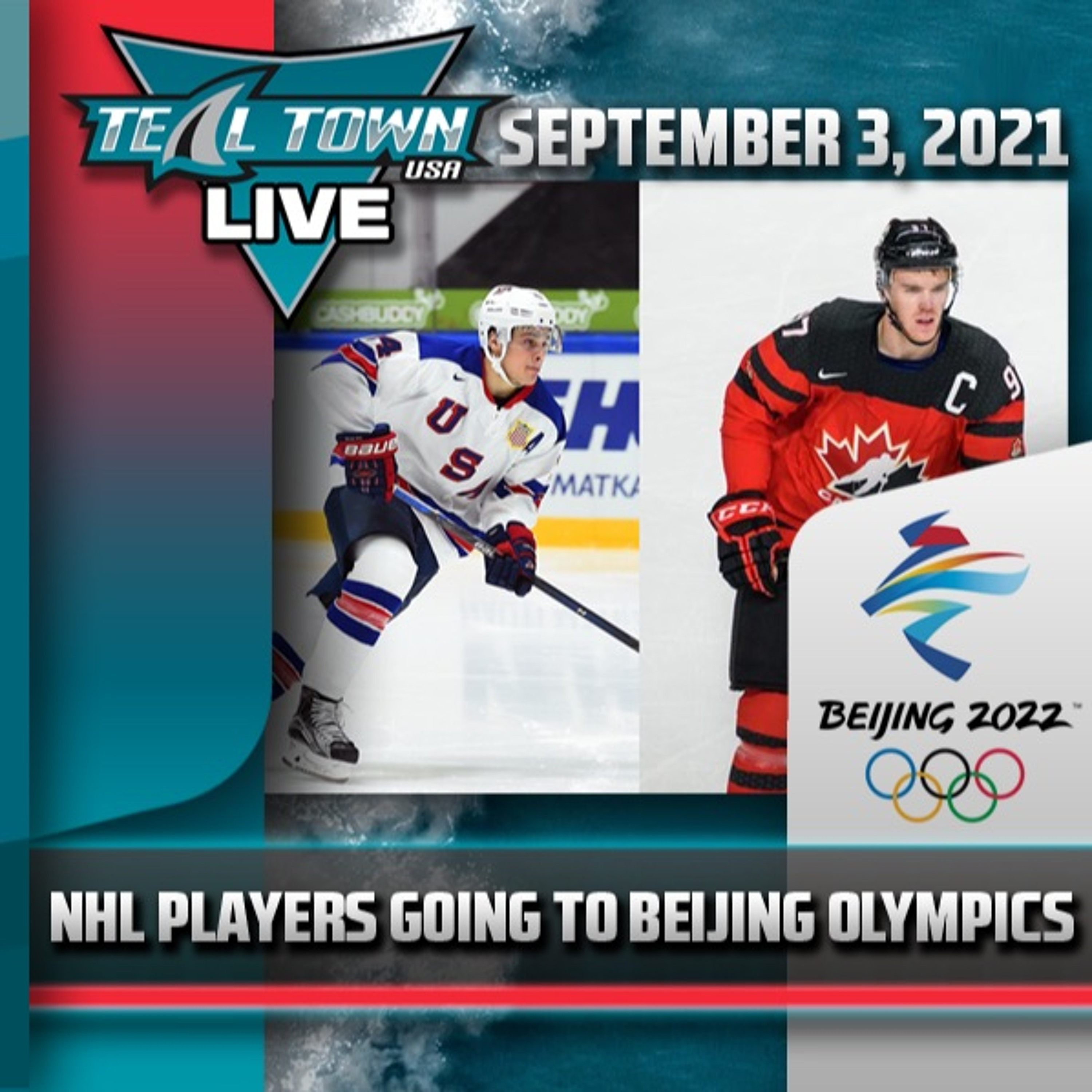 NHL Players to Participate in 2022 Winter Olympic Games - 9/3/2021 - Teal Town USA Live
