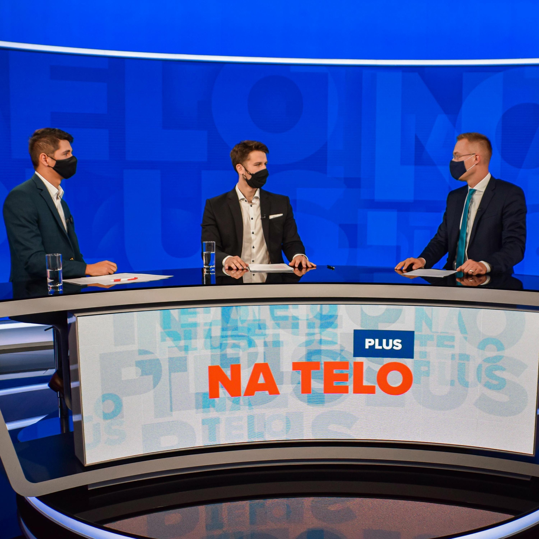 Na telo plus: Andrej Stančík (OĽaNO) a Erik Kaliňák (Smer)