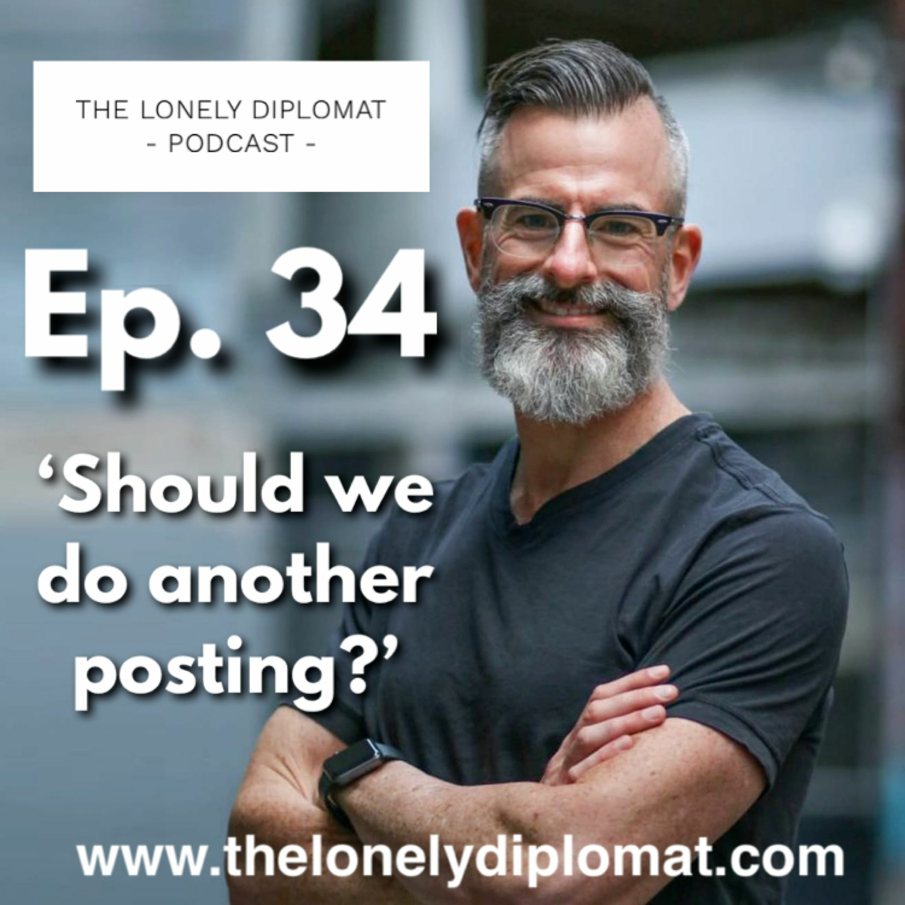 Ep. 34 - 'Should we do another posting?'