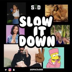 SLOW IT DOWN 2 (Slow Bashment, Slow Jamz) Mix CD @SPACExDEE