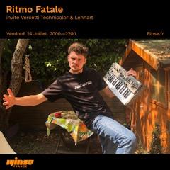 Ritmo Fatale : Lennart @ Rinse France, 24.07.20