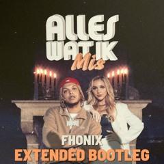 Ronnie Flex & Emma Heesters Feat. Kris Kross Amsterdam - Alles Wat Ik Mis (Fhonix Extended Bootleg)