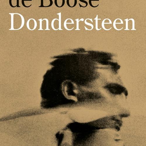 Johan de Boose over zijn nieuwe roman 'Dondersteen' in Pompidou