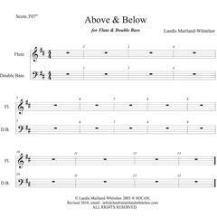 Above & Below - Flute - Bass