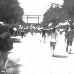 emptiness series_009_Yasukuni Shrine-8/15_2020