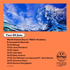 World Oceans Day w/ TBA21–Academy & Concentric Records