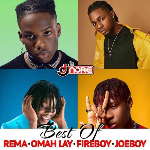 Best Of Rema x Joeboy x Fireboy x Omah Lay + Oxlade (Lasest Songs)Mix @DJNOREUK