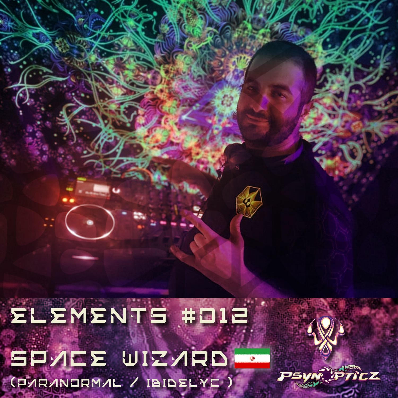 "SPACE WIZARD   IR (Paranormal/Ibidelyc)  :: PsynOpticz ""ELEMENTS"" Series #012"