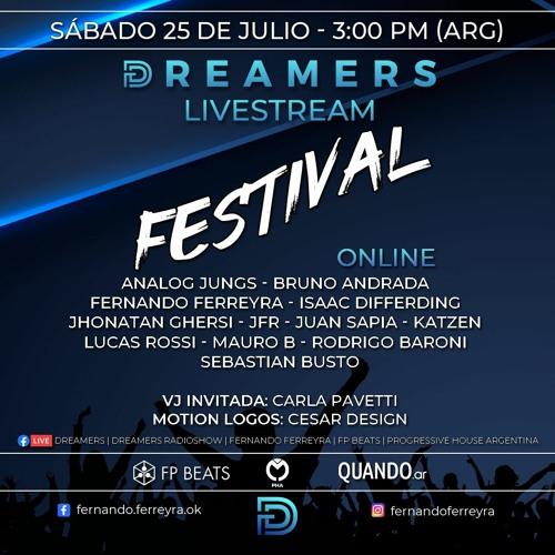 Fernando Ferreyra @ Dreamers Livestream Festival Julio 2020