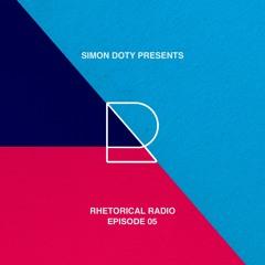 Rhetorical Radio 05 with Simon Doty