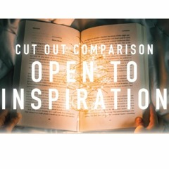 Cut out Comparison - Open to Inspiration - Margaret Baron - Thursday 15th July 2021