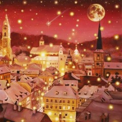 静かな雪夜のおとぎ話