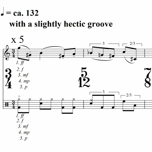 Four Grids (sax, drums)