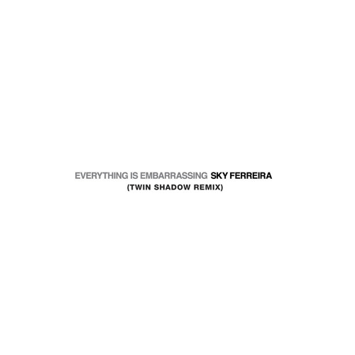 Everything Is Embarrassing (Twin Shadow Remix)