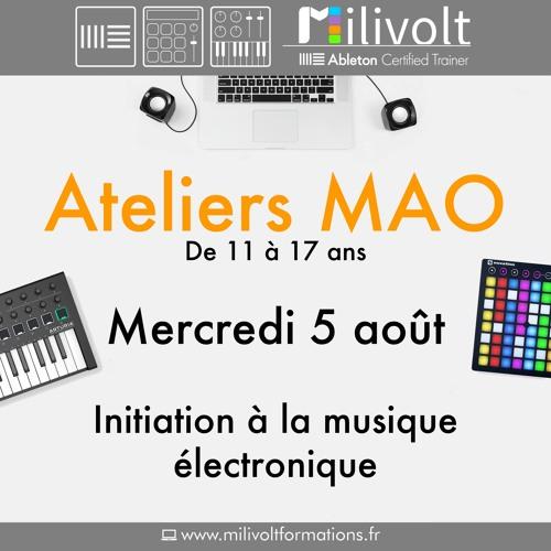 Atelier M.A.O. Perpignan - 5 aout 2020