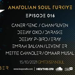 DEEJAY P - BIRD - Anatolian Soul Turkiye Episode 016 - Loops Radio