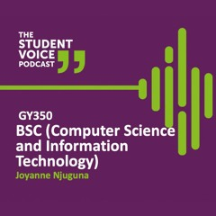 Student Voices Series with Joyanne Njuguna, International student studying GY350