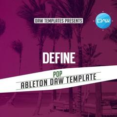 Define Ableton DAW Template