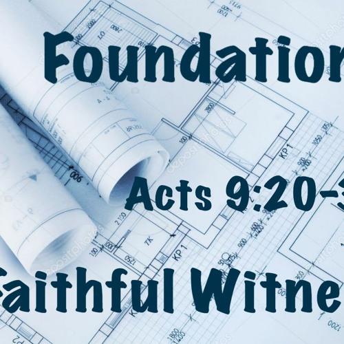 07122020 A Faithful Witness