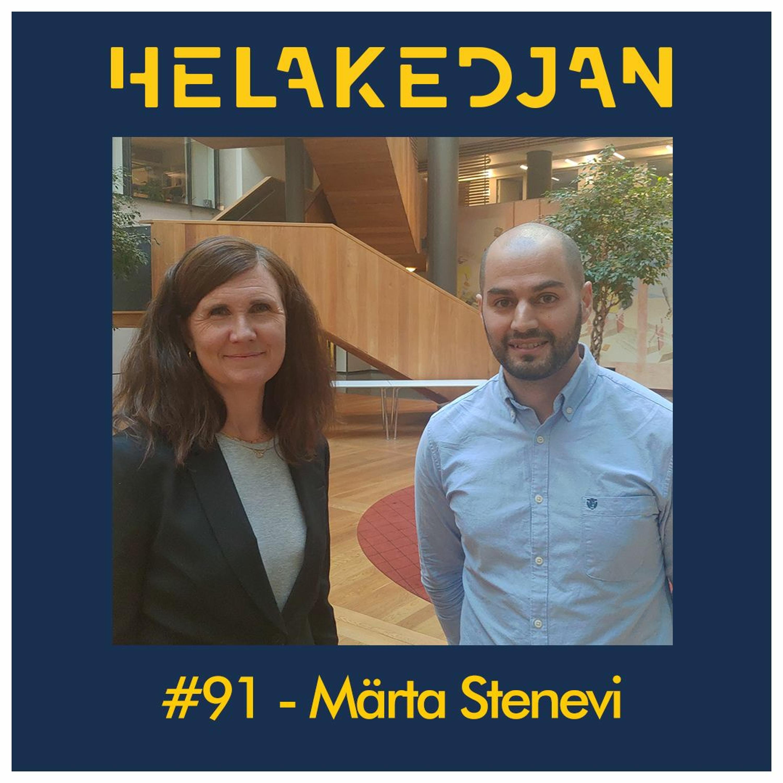 #91 - Märta Stenevi