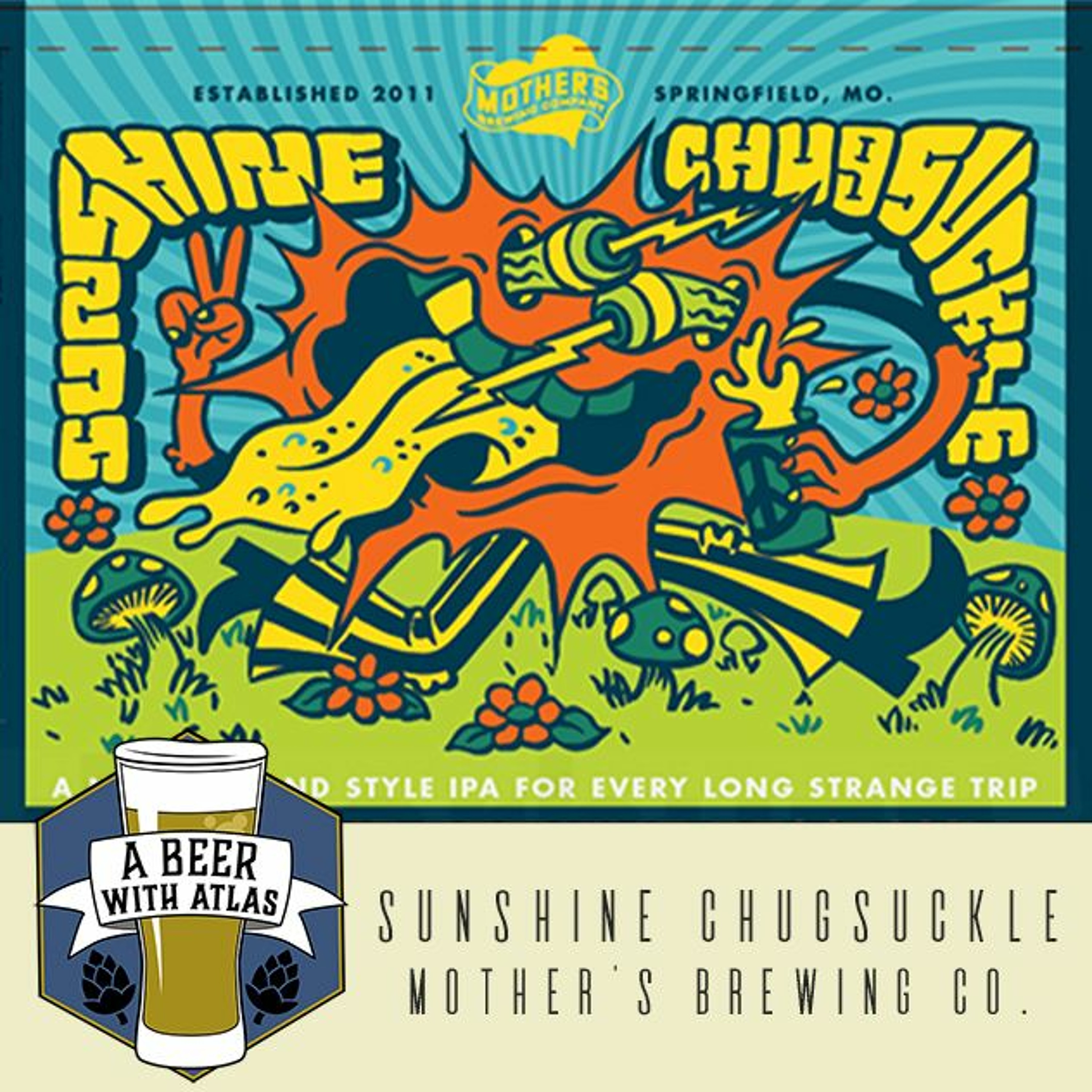 Sunshine Chugsuckle from Mother's Brewing Company - Beer With Atlas 103