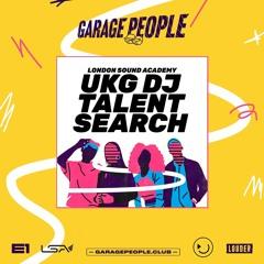 Garage People UKG DJ Talent Search - Miss L.A.
