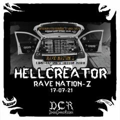 Hellcreator @ Rave Nation-Z   17/07/21   Amersfoort   NLD