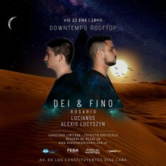 Dei & Fino @ Downtempo Rooftop   Recorded Live [22.01.21]